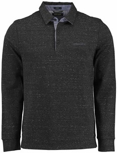 PIERRE CARDIN Polo-Shirt anthrazit