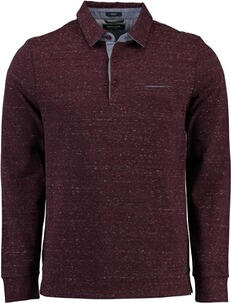 PIERRE CARDIN Polo-Shirt bordeaux