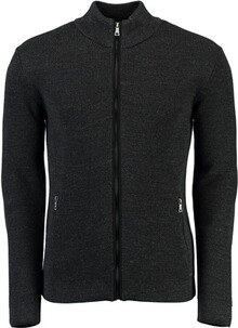 BRAX Strickjacke John anthrazit