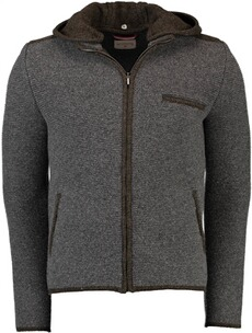 STAPF Strickjacke grau