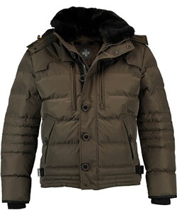 Wellensteyn Jacke Herren: WELLENSTEYN Starstream Steppjacke walnut