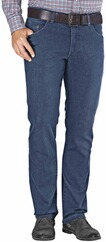 EUREX BY BRAX Tiefbund Stretch-Jeans bluestone