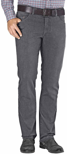 EUREX BY BRAX Stretch-Jeans Luke grau Tiefbund