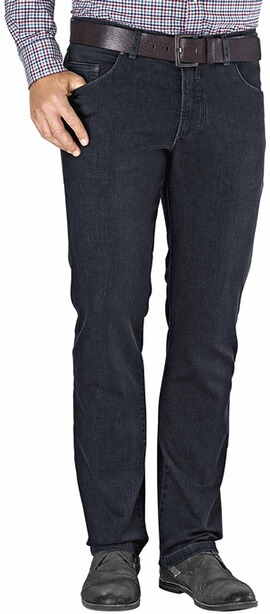 EUREX BY BRAX Stretch-Jeans Luke blueblack Tiefbund