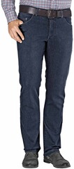 EUREX BY BRAX Tiefbund Stretch-Jeans blue