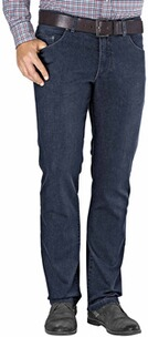 EUREX BY BRAX Tiefbund-Stretch-Jeans blue