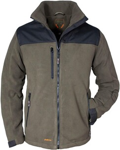 HUBERTUS Windstopper Fleece-Jacke oliv