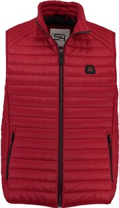 S4 JACKETS leichte Steppweste rot