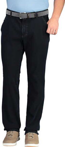 CLUB OF COMFORT High Stretch Baumwollhose darkblue