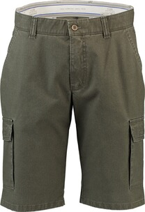 CLUB OF COMFORT Cargo-Shorts Cool Max oliv