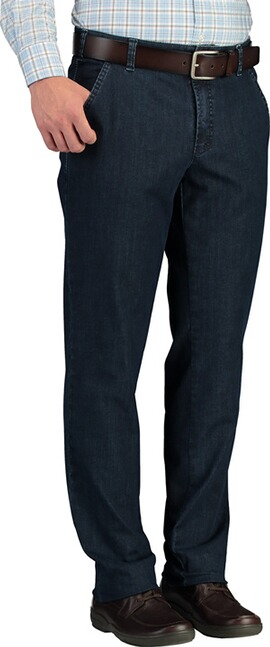 CLUB OF COMFORT Coolmax und High-Stretch Hose darkblue