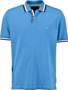 FYNCH HATTON Polo-Shirt hellblau