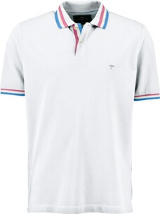 FYNCH HATTON Polo-Shirt weiss