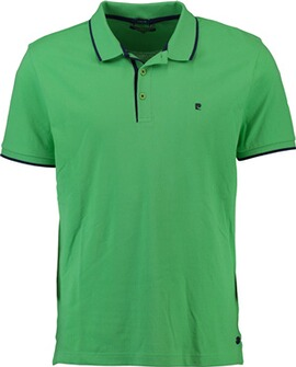 PIERRE CARDIN Polo-Shirt grün
