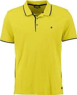 PIERRE CARDIN Polo-Shirt gelb