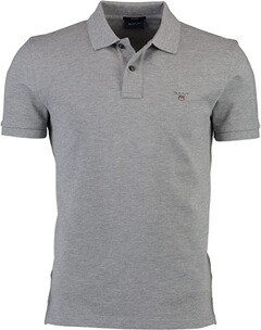 Herren Polo Shirt GANT Polo Shirt grau