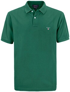 Herren Polo Shirt GANT Polo Shirt grün