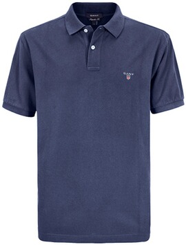 GANT Polo-Shirt The Original Piqué  marine-melange