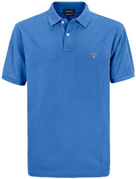 GANT Polo-Shirt The Original Piqué  blau