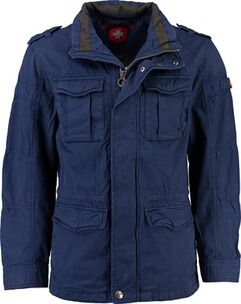 Wellensteyn Jacke Herren: WELLENSTEYN Colonel Jacke royalblau RockCotton