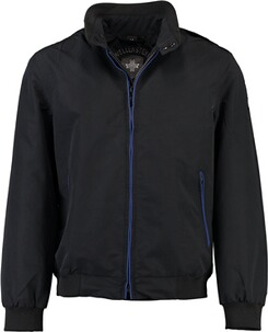 WELLENSTEYN College Blouson black/royalblue