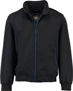 Wellensteyn Jacke Herren: WELLENSTEYN College Blouson black/royalblue