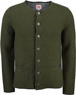 SPIETH & WENSKY Strickjacke Pocking oliv
