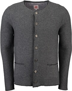 SPIETH & WENSKY Strickjacke Pocking grau