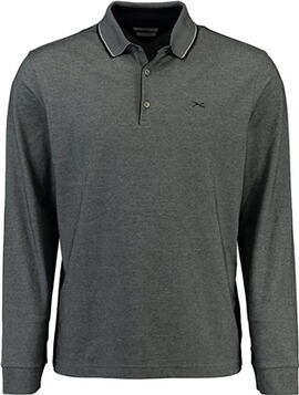 BRAX Polo-Shirt Pharell ultralight und easy care schwarz
