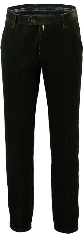 CLUB OF COMFORT Feincord-Stretchhose oliv