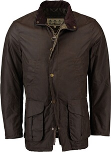 BARBOUR Wachsjacke Hereford braun