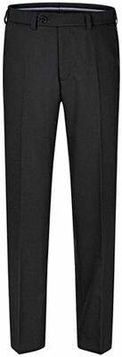 EUREX BY BRAX Woll-Stretch-Hose schwarz
