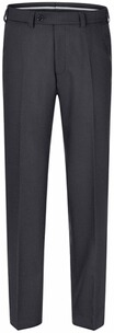 EUREX BY BRAX Tiefbund-Woll-Stretch-Hose anthrazit