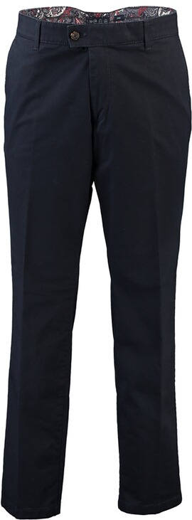 EUREX BY BRAX  Baumwoll-Stretch Hose Pima-Cotton marine