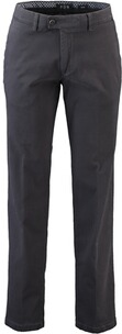 EUREX BY BRAX  Baumwoll-Stretch Hose Pima-Cotton anthrazit