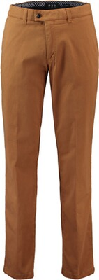 EUREX BY BRAX  Baumwoll-Stretch Hose Pima-Cotton curry