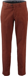 EUREX BY BRAX  Baumwoll-Stretch Hose Pima-Cotton rost