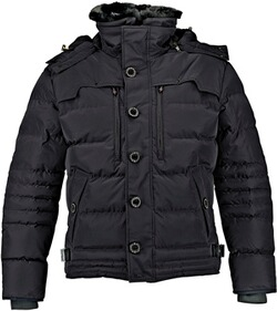 Wellensteyn Jacke Herren: WELLENSTEYN Starstream Steppjacke (ehemals Stardust) schwarz