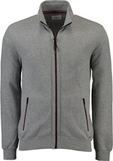 BRAX Sweat-Jacke Scott grau