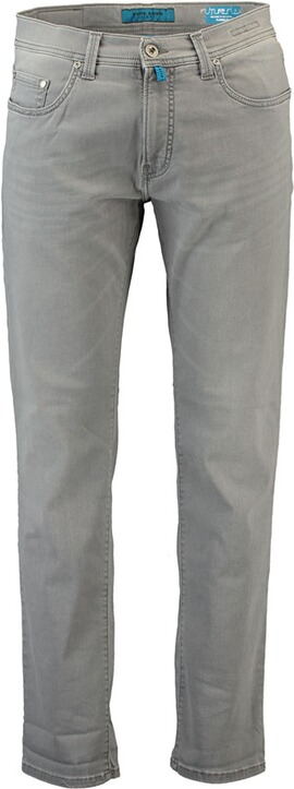 PIERRE CARDIN Five-Pocket-Jeans Futureflex grau