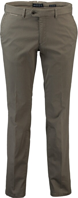 EUREX BY BRAX Baumwoll-Stretch-Hose Pio grün in Chino-Form
