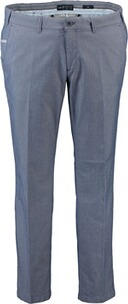 EUREX BY BRAX Baumwoll-Stretch-Hose Pio blau in Chino-Form
