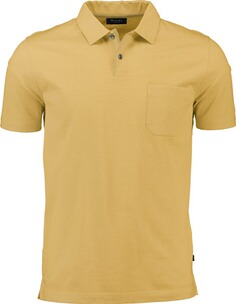 Herren Polo Shirt MAERZ Polo-Shirt gelb