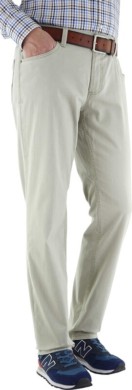 EUREX BY BRAX Five-Pocket-Jeans Coolmax beige