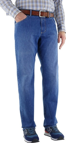EUREX BY BRAX Five-Pocket-Jeans Coolmax bluestone