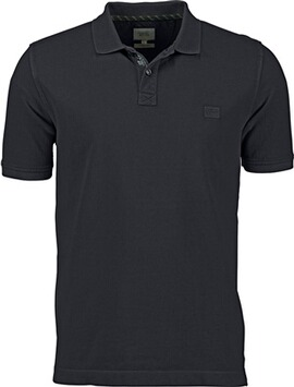 camel Polo-Shirt anthrazit