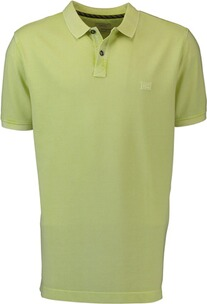 Herren Polo Shirt camel Polo-Shirt gelb