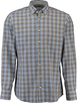 HAUPT Hemd hellbraun Comfort Fit Button-Down-Kragen