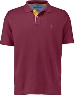 Herren Polo Shirt FYNCH HATTON Polo-Shirt beere