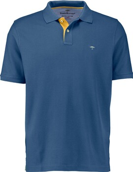 FYNCH HATTON Polo-Shirt blau